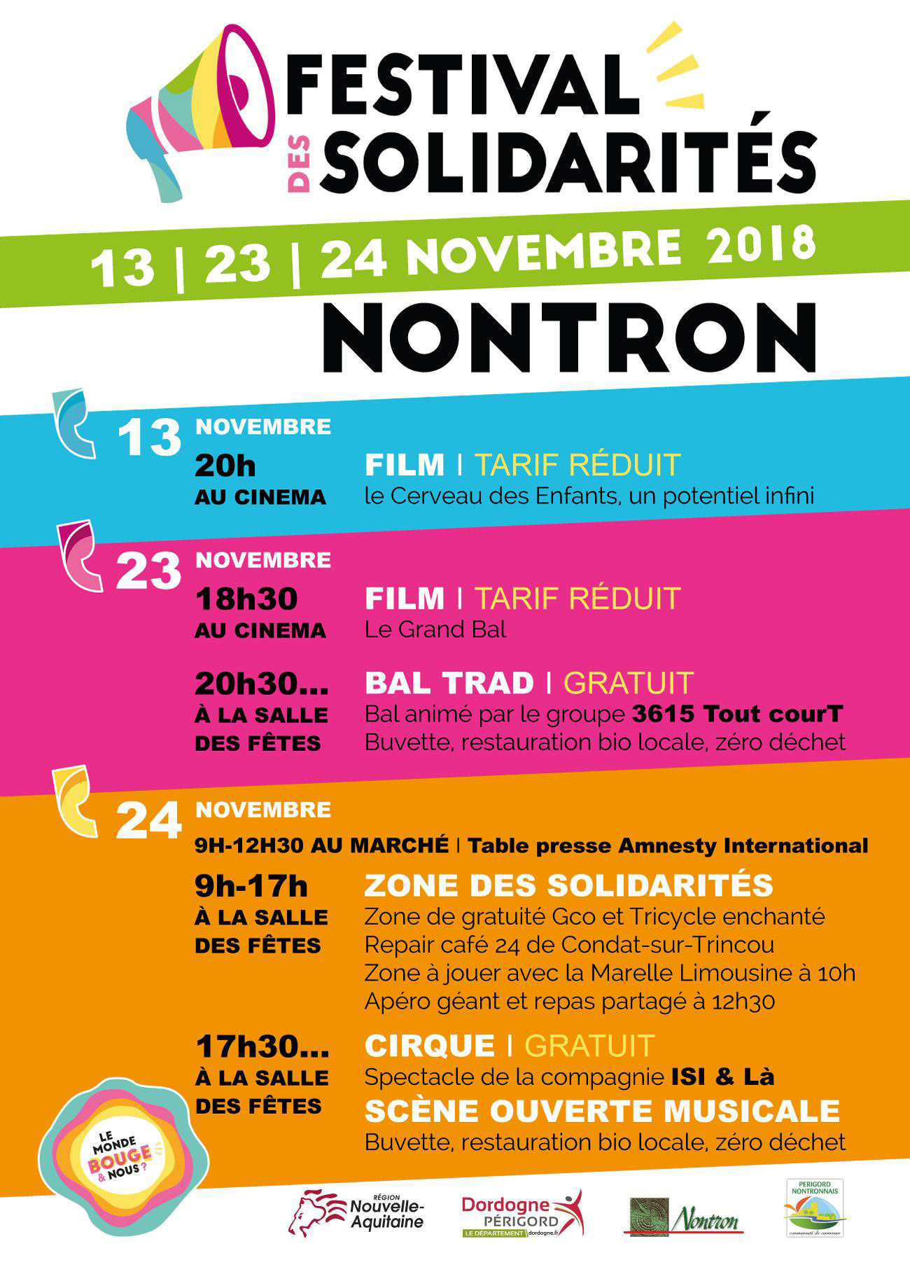 Affiche A4 mairie festisol