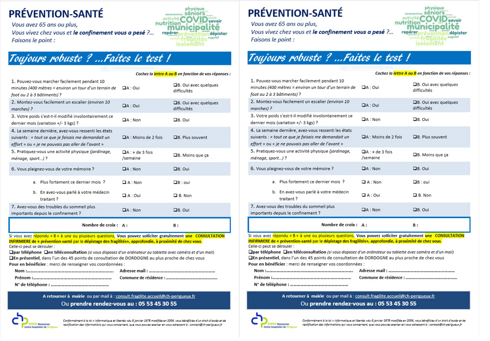Flyer A5 Robuste Faites le test
