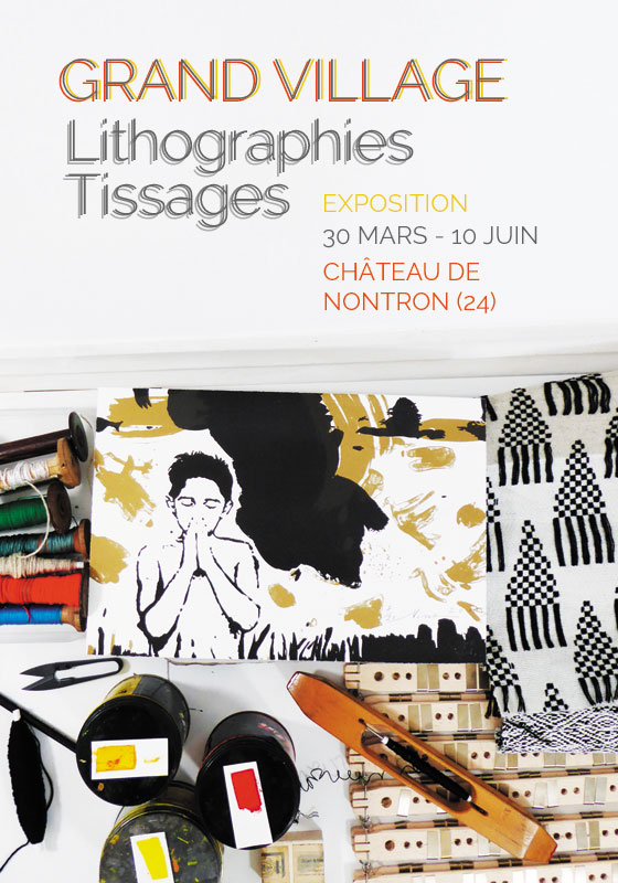 grand-village-lithographies-tissages-exposition-nontron-artisanat-art