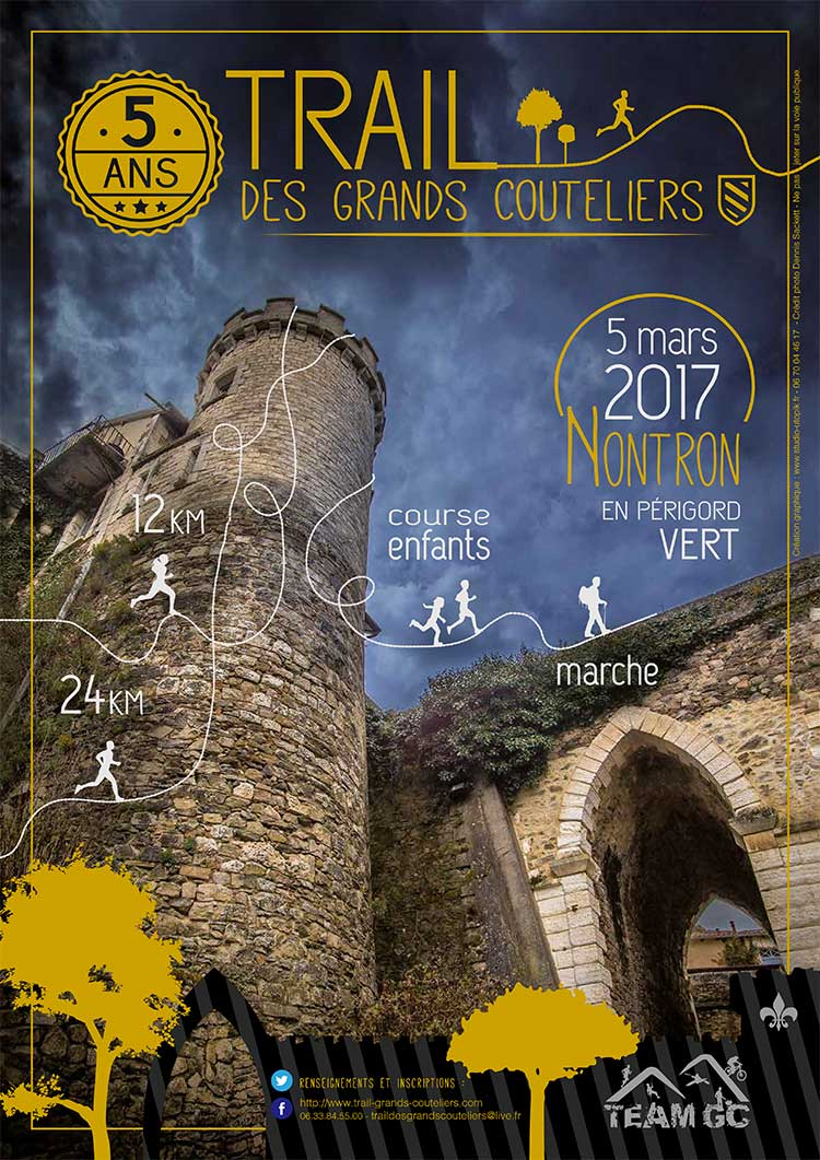Affiche GD Couteliers 2017